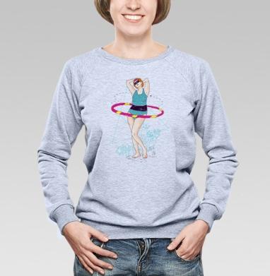 Athletic girl - Купить детские свитшоты спортивные в Москве, цена детских свитшотов спортивных  с прикольными принтами - магазин дизайнерской одежды MaryJane