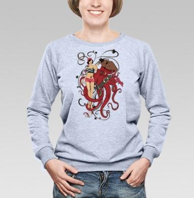 Дама пик - Купить детские свитшоты с пиратом в Москве, цена детских свитшотов пиратских с прикольными принтами - магазин дизайнерской одежды MaryJane