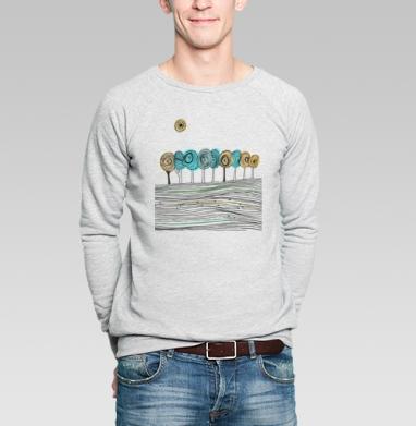 Деревья. графика - Купить мужские свитшоты с деревьями в Москве, цена мужских свитшотов с деревьями  с прикольными принтами - магазин дизайнерской одежды MaryJane