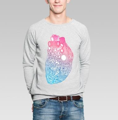 Дудлосердце - Купить мужские свитшоты абстрактные в Москве, цена мужских свитшотов абстрактных  с прикольными принтами - магазин дизайнерской одежды MaryJane