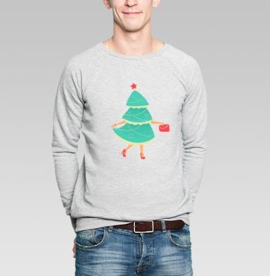 Елка-Красавица - Купить мужские свитшоты модные в Москве, цена мужских свитшотов модных  с прикольными принтами - магазин дизайнерской одежды MaryJane