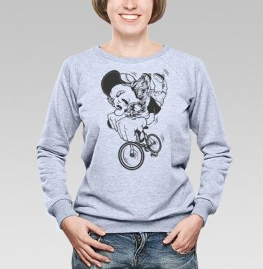 Fixed Gear - Купить детские свитшоты с усами в Москве, цена детских свитшотов с усами с прикольными принтами - магазин дизайнерской одежды MaryJane