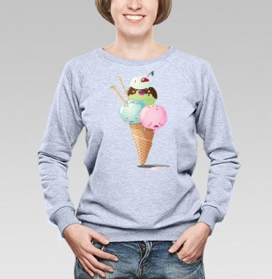 Frozen - Купить детские свитшоты с мороженным в Москве, цена детских свитшотов с мороженным  с прикольными принтами - магазин дизайнерской одежды MaryJane