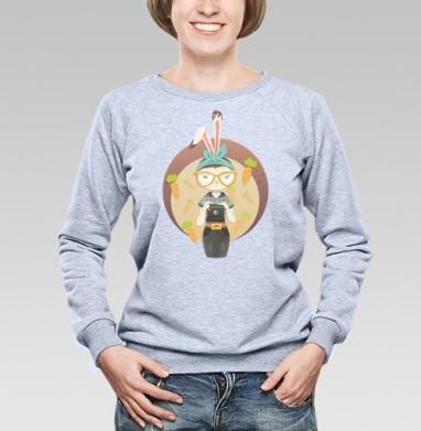 Hipster Bunny - Купить детские свитшоты хипстерские в Москве, цена детских свитшотов хипстерских  с прикольными принтами - магазин дизайнерской одежды MaryJane