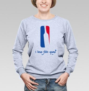 I love this game - Купить детские свитшоты спортивные в Москве, цена детских свитшотов спортивных  с прикольными принтами - магазин дизайнерской одежды MaryJane