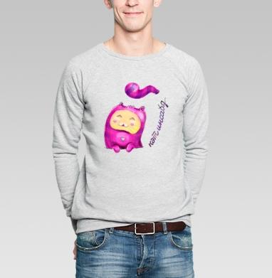 Кэт инсайд - Купить мужские свитшоты романтика в Москве, цена мужских  романтических  с прикольными принтами - магазин дизайнерской одежды MaryJane