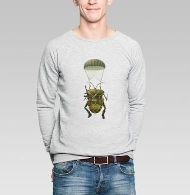 Клоп десант - Купить мужские свитшоты военные в Москве, цена мужских  военных  с прикольными принтами - магазин дизайнерской одежды MaryJane
