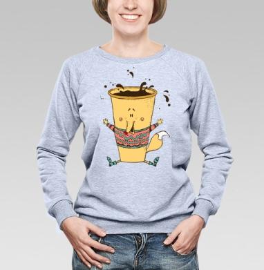 Кофе-лис - Купить детские свитшоты хипстерские в Москве, цена детских свитшотов хипстерских  с прикольными принтами - магазин дизайнерской одежды MaryJane