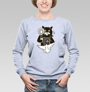 Котэ Фотограф  - Купить детские свитшоты ретро в Москве, цена детских свитшотов ретро  с прикольными принтами - магазин дизайнерской одежды MaryJane