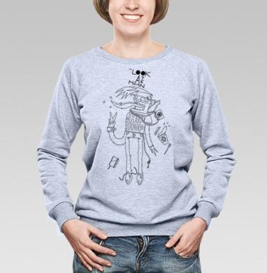 Look At Me Man - Купить детские свитшоты хипстерские в Москве, цена детских свитшотов хипстерских  с прикольными принтами - магазин дизайнерской одежды MaryJane