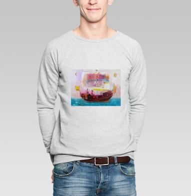 Lucky seafarers - Купить мужские свитшоты спортивные в Москве, цена мужских  спортивных  с прикольными принтами - магазин дизайнерской одежды MaryJane
