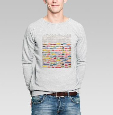 Машины - Купить мужские свитшоты с городами в Москве, цена мужских свитшотов с городами  с прикольными принтами - магазин дизайнерской одежды MaryJane