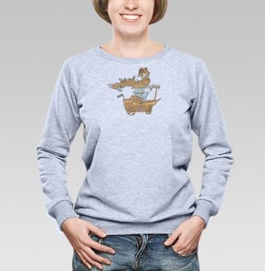 Морская - Купить детские свитшоты с пиратом в Москве, цена детских свитшотов пиратских с прикольными принтами - магазин дизайнерской одежды MaryJane