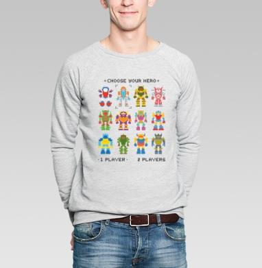 МОЙ ГЕРОЙ - Купить мужские свитшоты с играми в Москве, цена мужских  с играми  с прикольными принтами - магазин дизайнерской одежды MaryJane