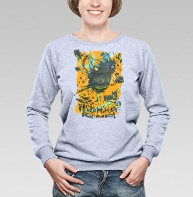 Мы за МИРный космос! - Купить детские свитшоты с пиратом в Москве, цена детских свитшотов пиратских с прикольными принтами - магазин дизайнерской одежды MaryJane