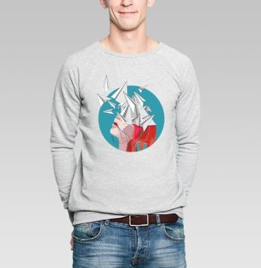Полёт мысли - Купить мужские свитшоты со сказками в Москве, цена мужских свитшотов со сказками  с прикольными принтами - магазин дизайнерской одежды MaryJane