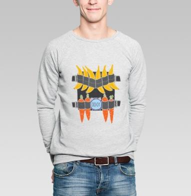 ПОЯС ЖИЗНИ - Купить мужские свитшоты с фруктами в Москве, цена мужских свитшотов с фруктами  с прикольными принтами - магазин дизайнерской одежды MaryJane