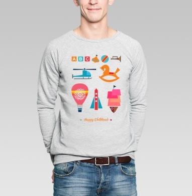 Радости детства - Купить мужские свитшоты с играми в Москве, цена мужских  с играми  с прикольными принтами - магазин дизайнерской одежды MaryJane