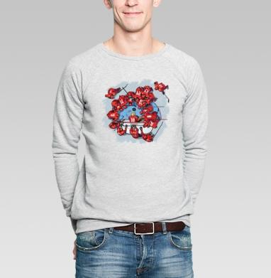 Рыбалка с шайбой - Купить мужские свитшоты с приколами в Москве, цена мужских свитшотов с приколами с прикольными принтами - магазин дизайнерской одежды MaryJane