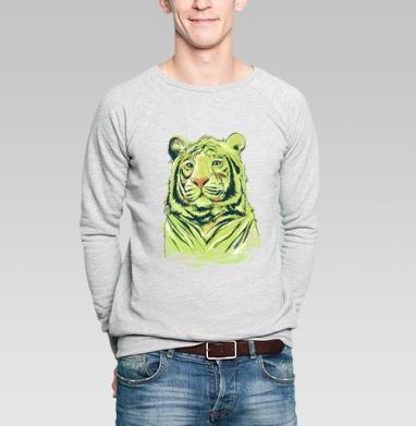 Тигры - Купить мужские свитшоты с тигром в Москве, цена мужских свитшотов с тиграми  с прикольными принтами - магазин дизайнерской одежды MaryJane