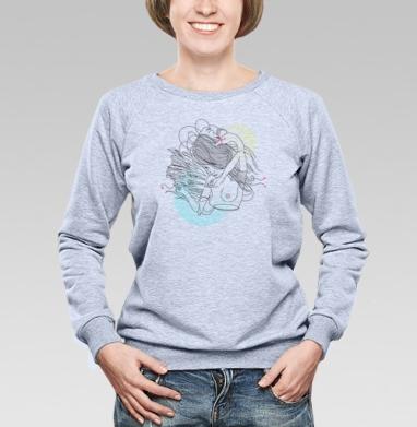 Twins - Купить детские свитшоты абстрактные в Москве, цена детских свитшотов абстрактных  с прикольными принтами - магазин дизайнерской одежды MaryJane