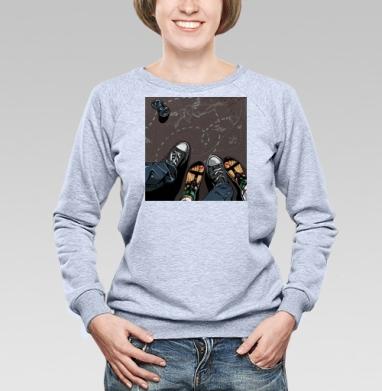 Влюбленные - Купить детские свитшоты модные в Москве, цена детских свитшотов модных  с прикольными принтами - магазин дизайнерской одежды MaryJane
