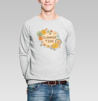 Время лета - Купить мужские свитшоты красивые в Москве, цена мужских свитшотов красивых  с прикольными принтами - магазин дизайнерской одежды MaryJane