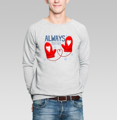 WARM - Купить мужские свитшоты нежность в Москве, цена мужских  нежность  с прикольными принтами - магазин дизайнерской одежды MaryJane