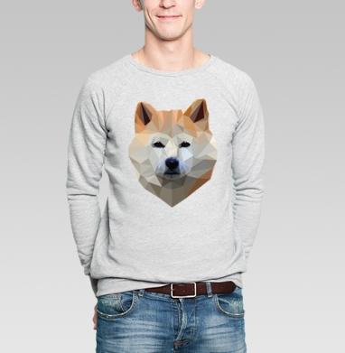Хатико - Купить мужские свитшоты с собаками в Москве, цена мужских свитшотов с собаками  с прикольными принтами - магазин дизайнерской одежды MaryJane