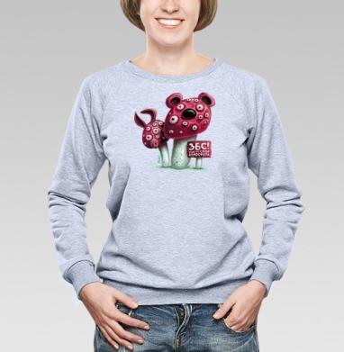 ЗБС! - Купить детские свитшоты с грибами в Москве, цена детских свитшотов с грибами с прикольными принтами - магазин дизайнерской одежды MaryJane