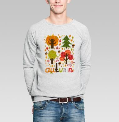 Autumn - Купить мужские свитшоты Текстуры в Москве, цена мужских свитшотов Текстуры с прикольными принтами - магазин дизайнерской одежды MaryJane