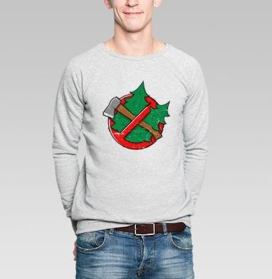 Beregite elki - Купить мужские свитшоты с природой в Москве, цена мужских свитшотов с природой  с прикольными принтами - магазин дизайнерской одежды MaryJane