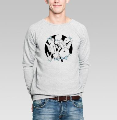 Boys Bunny - Купить мужские свитшоты с бабочками в Москве, цена мужских свитшотов с бабочкой с прикольными принтами - магазин дизайнерской одежды MaryJane