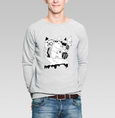 Candybear - Купить мужские свитшоты сладости в Москве, цена мужских свитшотов со сладостями  с прикольными принтами - магазин дизайнерской одежды MaryJane