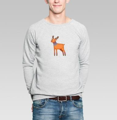 Dear Deer - Купить мужские свитшоты Новый год в Москве, цена мужских  новогодних  с прикольными принтами - магазин дизайнерской одежды MaryJane