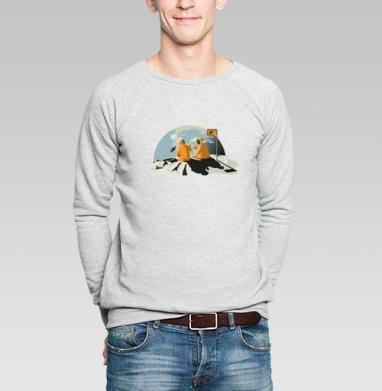 Домой... - Купить мужские свитшоты с автомобилями в Москве, цена мужских свитшотов с автомобилями  с прикольными принтами - магазин дизайнерской одежды MaryJane