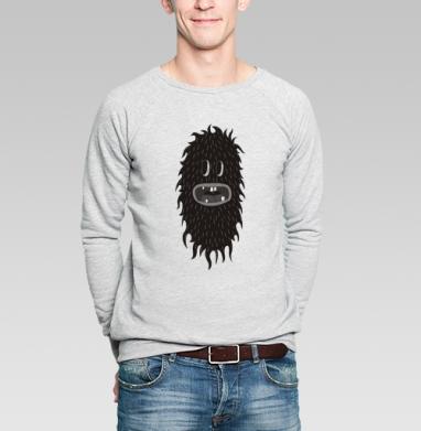 Hairy_black_cucumber - Купить мужские свитшоты с лицом в Москве, цена мужских  с лицом  с прикольными принтами - магазин дизайнерской одежды MaryJane