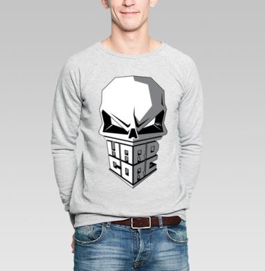 Hardcore to da bone - Купить мужские свитшоты с черепом в Москве, цена мужских  с черепом  с прикольными принтами - магазин дизайнерской одежды MaryJane