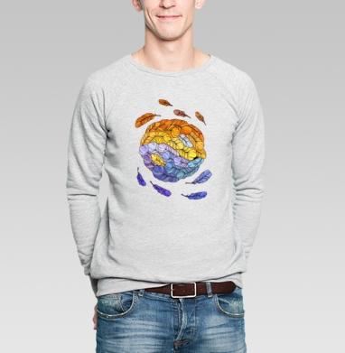 Инь-янь - Купить мужские свитшоты Текстуры в Москве, цена мужских свитшотов Текстуры с прикольными принтами - магазин дизайнерской одежды MaryJane