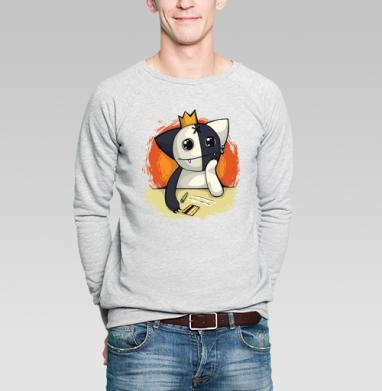 Kosh and coke - Купить мужские свитшоты с кошками в Москве, цена мужских  с кошками  с прикольными принтами - магазин дизайнерской одежды MaryJane