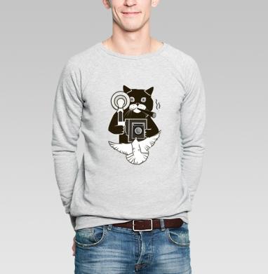 Котэ Фотограф  - Купить мужские свитшоты ретро в Москве, цена мужских  ретро  с прикольными принтами - магазин дизайнерской одежды MaryJane