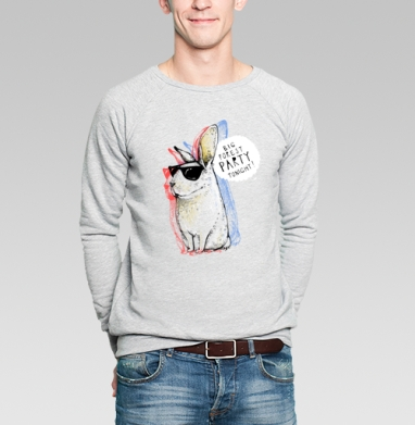 Кроль - Купить мужские свитшоты с персонажами в Москве, цена мужских свитшотов с персонажами  с прикольными принтами - магазин дизайнерской одежды MaryJane