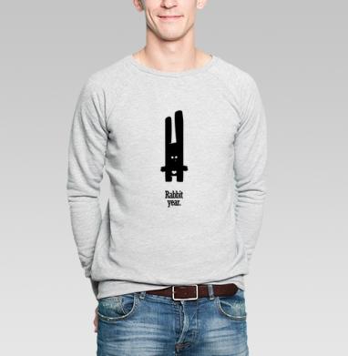 Кролик-сексоголик - Купить мужские свитшоты секс в Москве, цена мужских свитшотов секс  с прикольными принтами - магазин дизайнерской одежды MaryJane
