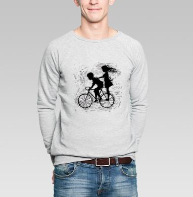 Летнее, велосипедное - Купить мужские свитшоты парные в Москве, цена мужских  парных  с прикольными принтами - магазин дизайнерской одежды MaryJane