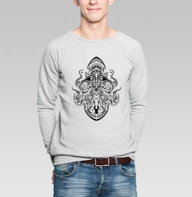 Maori - Купить мужские свитшоты морские  в Москве, цена мужских свитшотов морских   с прикольными принтами - магазин дизайнерской одежды MaryJane
