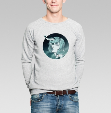 Marine - Купить мужские свитшоты с лицом в Москве, цена мужских  с лицом  с прикольными принтами - магазин дизайнерской одежды MaryJane