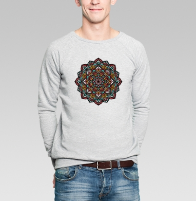 Моя мандала - Купить мужские свитшоты этно в Москве, цена мужских  этно  с прикольными принтами - магазин дизайнерской одежды MaryJane