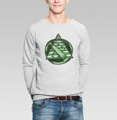 Нет всевидящему оку - Купить мужские свитшоты этно в Москве, цена мужских  этно  с прикольными принтами - магазин дизайнерской одежды MaryJane