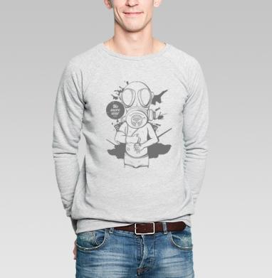 No more war - Купить мужские свитшоты военные в Москве, цена мужских свитшотов военных с прикольными принтами - магазин дизайнерской одежды MaryJane