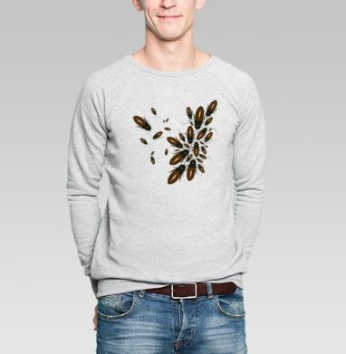 Обед нагишом - Купить мужские свитшоты Текстуры в Москве, цена мужских свитшотов Текстуры с прикольными принтами - магазин дизайнерской одежды MaryJane